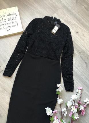 Элегантное, очень красивое платье футляр, платье кружевное,