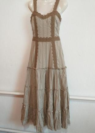 Натуральное шикарное платье с америки раз.10