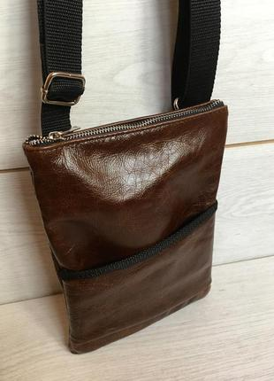 Сумка из натуральной кожи, кожаная сумка