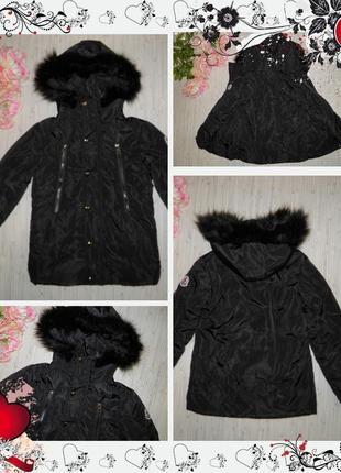 Обнова! куртка демі moncler (р.128-134 на 8-9років) курточка