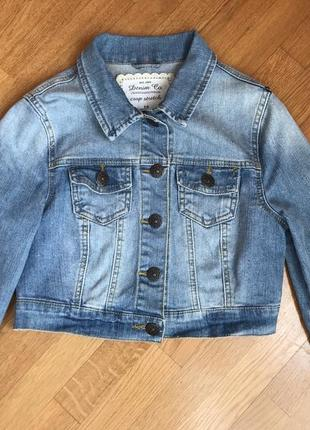 Джинсовка, джинсовая куртка denim co