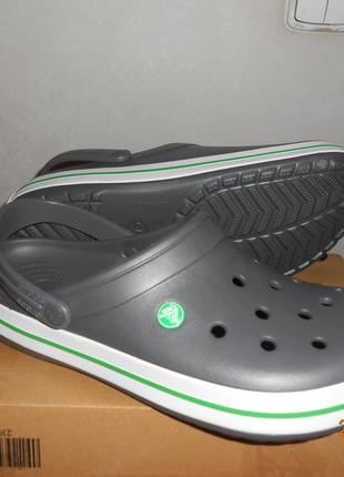 Кроксы crocs crocband р. w6-w9. оригинал