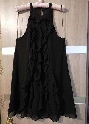 Платье сарафан, рюш