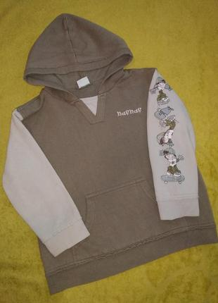 Тёплая кофта, свитер, кофта 4-5 лет
