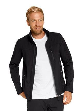 Качественная мужская куртка softshell от tchibo(германия) на микрофлисе