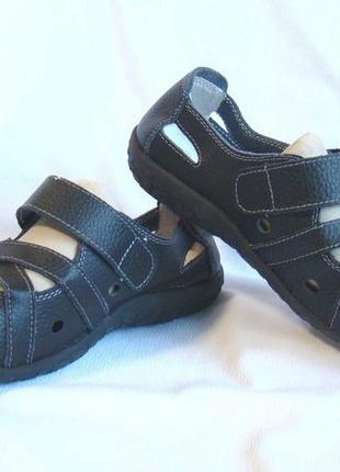 Туфли женские кожаные мягкие черные softlites