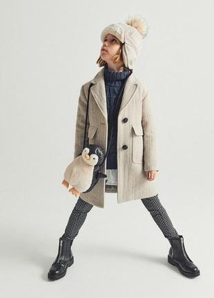 Пальто  в стиле рустик. размер 7,10 лет