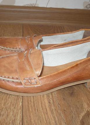 Кожаные туфли мах, 39р.