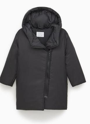 Длинная куртка zara.