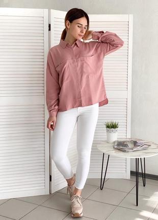 Женская рубашка универсального размера, в наличии