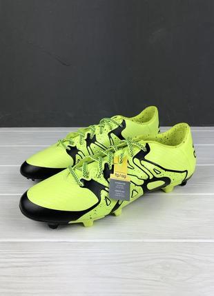 Бутсы adidas x15.3 original 42.5 44.5 45 новые корочки футбольные бампы оригинал