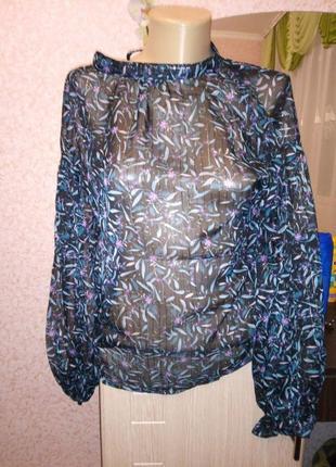 Прозрачная блузка