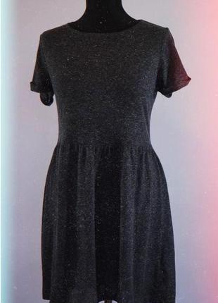 Лёгкое расклешенное платье 2020