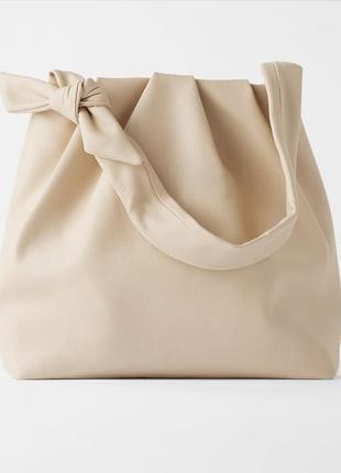 Мягкая сумка zara1 фото