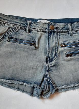 Джинсовые шорты для девочки  р 14\158