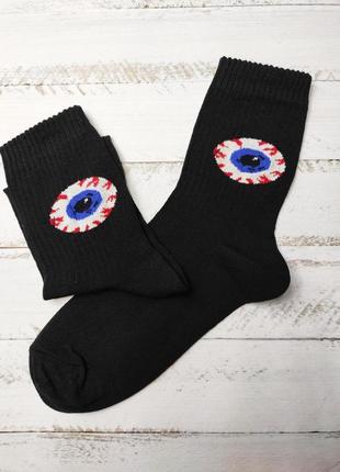 Високі носки з принтами, надписами та приколами