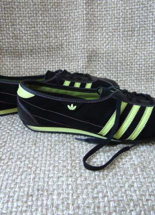 Adidas р.39 кеди красовки шкіра замша