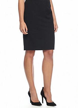 Офисная прямая юбка миди gap 10-12 размер
