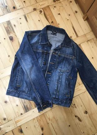 Стильная джинсовая куртка от logg {h&m}