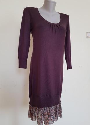 #летняяраспродажа красивое трикотажное комбинированное платье