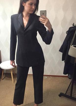 Брючный костюм люксового модного дома emporio armani