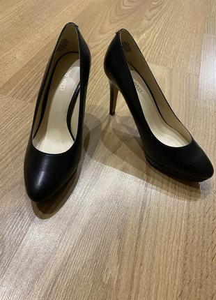 Туфли nine west(24.5 по стельке),кожа
