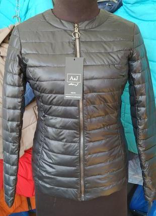 Курточка a&j биопух куртка весенняя4 фото