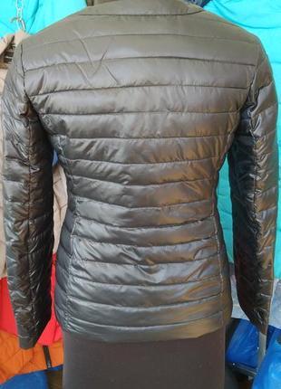 Курточка a&j биопух куртка весенняя7 фото