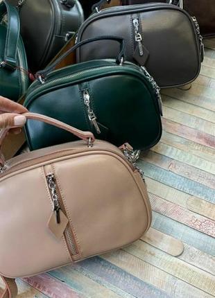 Женская сумочка-клатч кожаная сумка шкіряна жіноча