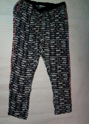 Свободные женские штаны брюки с лампасами. milla.