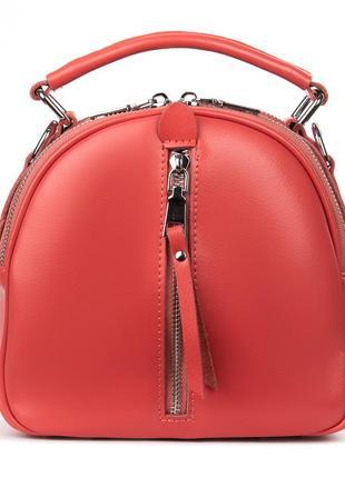 Кожаная сумка рюкзак женская шкіряна жіноча клатч кожаный рюкзак портфель