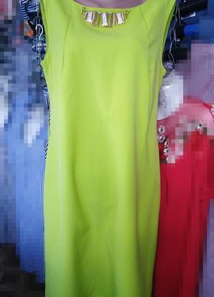 Уценка! яркое стильное платье, р.48