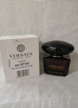 Versace crystal noir тестер 90 мл