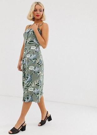 Oasis оригинал ваше идеальное платье  фактурная льняная ткань дышащая и натуральная