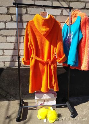 Оранжевый халат🦊🦊🦊