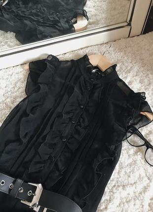 Платье с рюшами в стиле ретро от new look