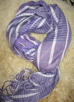 Легкий весенний шарфик