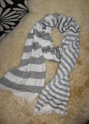 Легкий тонкий шарфик/полоска