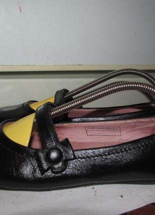 Брендовые полностью кожаные туфли-лодочки next
