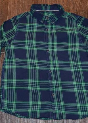 Рубашка в клетку zara boys collection