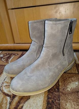 Крутые демисезонные ботинки 24 см