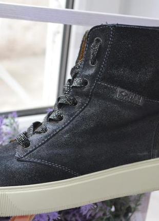 Оригинал. кожаные ботинки palladium р. 41 по стельке 26,5 см