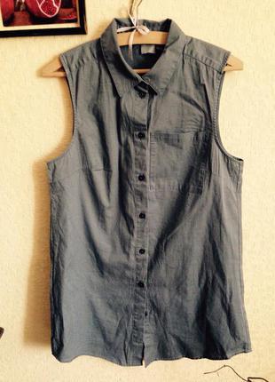 Нова трендова блуза безрукавка asos