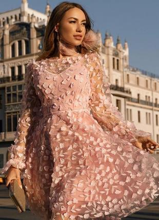 Платье нежное милое легкое воздушное манящее