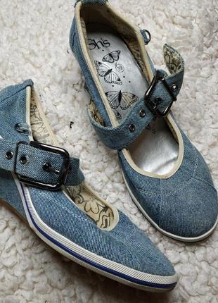 Джинсовые туфельки