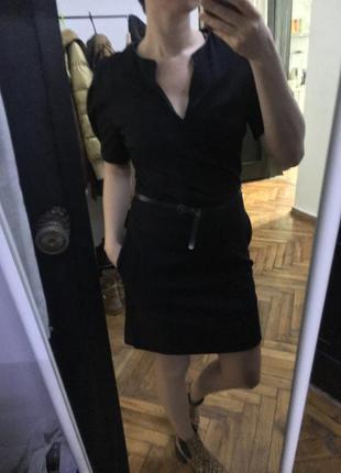 Тёплое платье massimo dutti