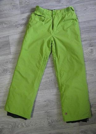 Зимние лыжные термо штаны 152 см 11-12-13 лет термоштаны