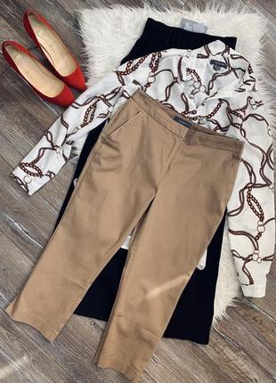 Актуальные укорочённые брюки / капри