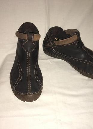 Ботинки *clarks* кожа германия р.41 (27.00 см)