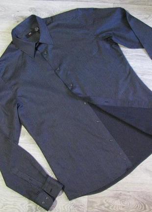 Рубашка мужская h&m размер l , ворот 41-42